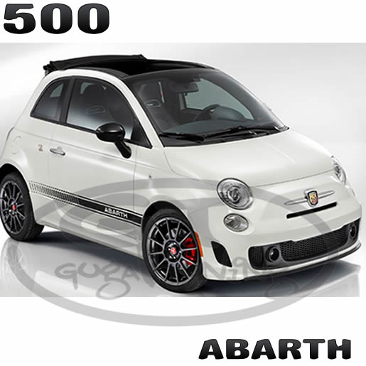 faixa fiat 500 tipo modelo abarth guga tuning. Black Bedroom Furniture Sets. Home Design Ideas